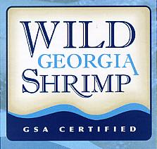 FRESH WILD GEORGIA SHRIMP LOGO